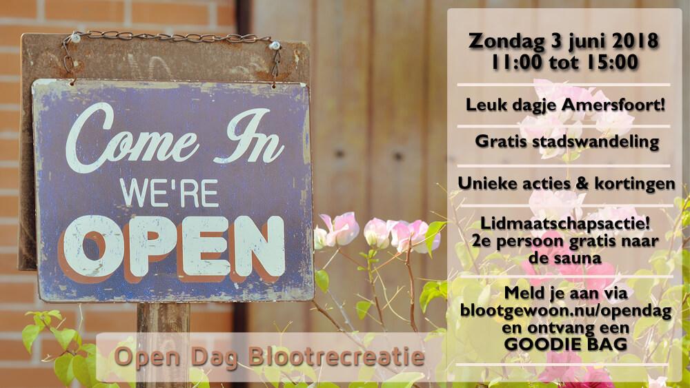 Open Dag Blootrecreatie