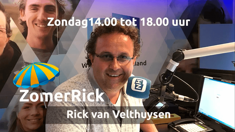 ZomerRick - Rick van Velthuysen van NH Radio