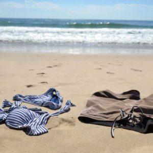 Kleding-op-strand