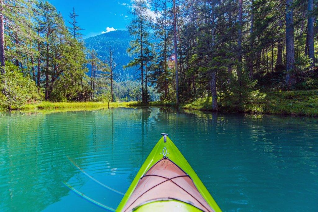 Kayak Touring on the Lake