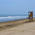 Beach at the argentinean atlantic coast