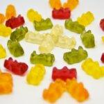 close up of Haribo sweets