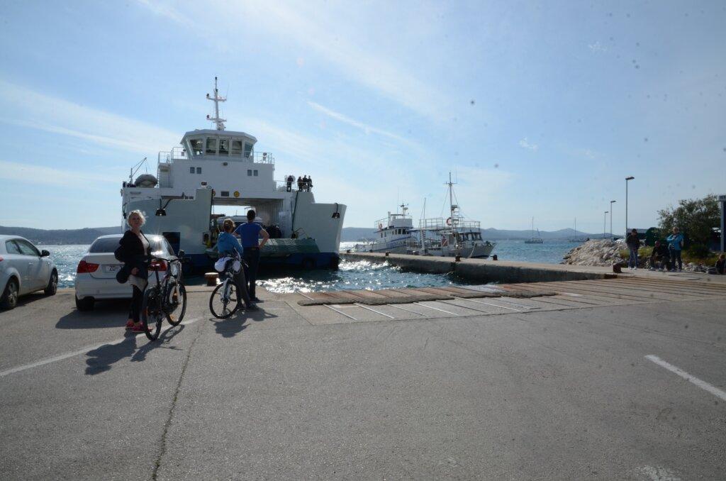 Veerboot in Kroatë