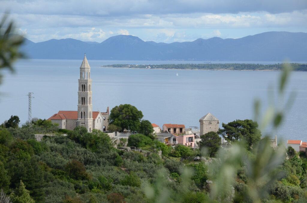 Uitzicht Kroatië eilandhoppen