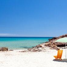 Bloot vakantie Sardinië