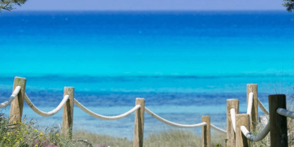 blootgewoon Naaktstrand, Ses Islettes Formentera, Spanje